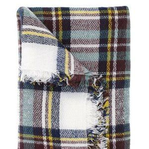 Women's Cents of Style Berlin Plaid Blanket Scarf